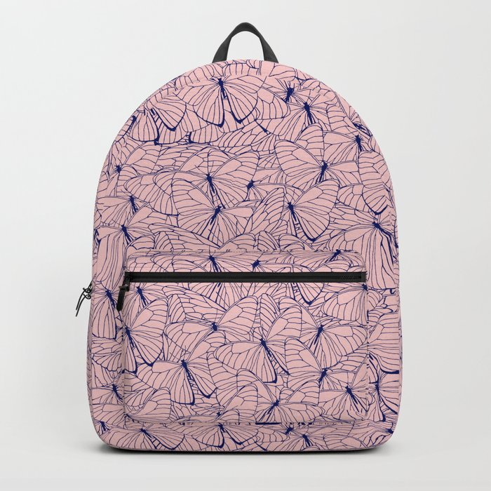 Butterfly Blush Backpack
