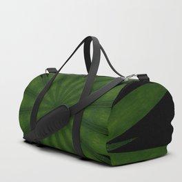 Green Swirled Heart Duffle Bag