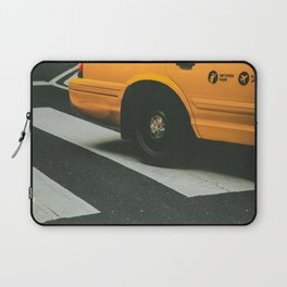 NYC yellow Cab Laptop Sleeve
