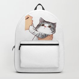 Kiss Cute Cat 3 Backpack