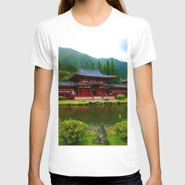 Temple Valley Buddah ... By LadyShalene T-shirt
