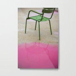 La Chaise Metal Print
