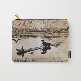 Bird Fishing Carry-All Pouch