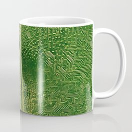 3757s-DRL Explicit Motherboard Booty Fine Art Tech Naked Traces Coffee Mug