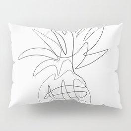 One Line Pineapple Pillow Sham