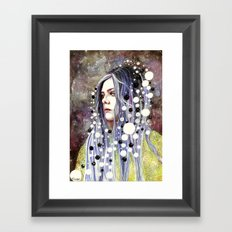 The Day I Forgot About The Stars Framed Art Print