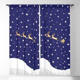 Christmas Santa Claus Blackout Curtain