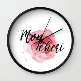 Mon Cheri Wall Clock