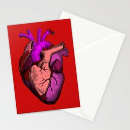 Valentine Anatomy Heart Stationery Cards