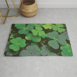 Bed of Clovers Rug