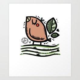Friend Robin  Art Print