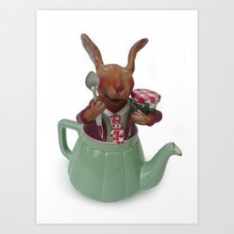 TEA TIME 1 Art Print
