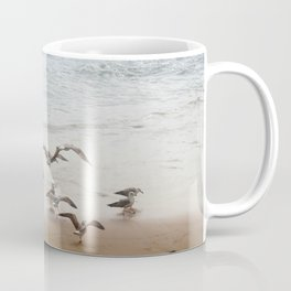 Seagulls on the seashore Coffee Mug