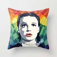 dorothy Throw Pillows featuring Dorothy by Stephanie Keir
