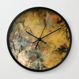 Gold Rush Wall Clock