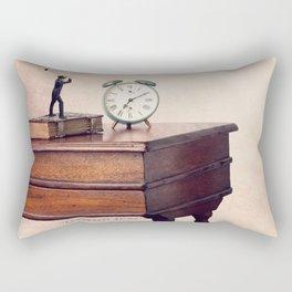 The morning ringer Rectangular Pillow