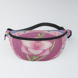 Pretty Pink Flowers Mandala Fanny Pack