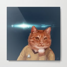 William Catner Metal Print