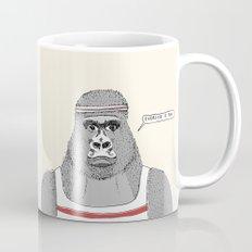 Gorillas love exercise Mug