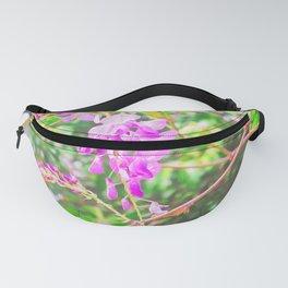 Little Purple Flowers Fanny Pack