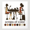 Scraps of Color Limited Edition T-shirt by tiaresmithdesigns