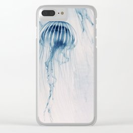 Deep Blue Sea #1 Clear iPhone Case