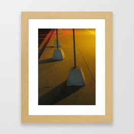 Marching In Yellow Framed Art Print