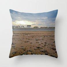 Walney Island Throw Pillow