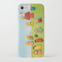 peanuts iPhone & iPod Cases featuring Real Peanuts by Phil Jones