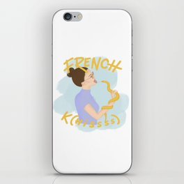 French K(hissss) iPhone Skin