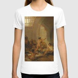 "Francisco Goya ""Casa de locos (The Madhouse)"" T-shirt"
