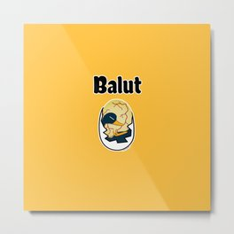 Balut egg duck embryo egg protein Filipino Metal Print