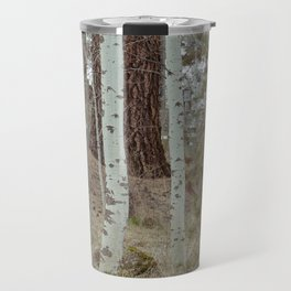 A Walk Through The Aspen Travel Mug