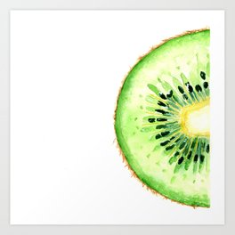 Tutti Frutti. Kiwi. Art Print