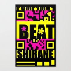 Beat Wins K U R - Shirane Canvas Print