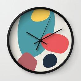 Abstract No.19 Wall Clock