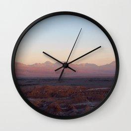 Moon Valley - Valle de la Luna Wall Clock