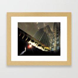 Urban Abstraction Framed Art Print