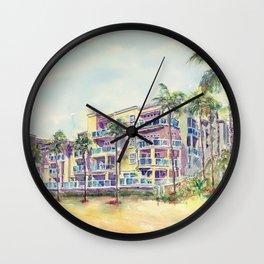 1500 E Ocean Blvd. Long Beach Wall Clock