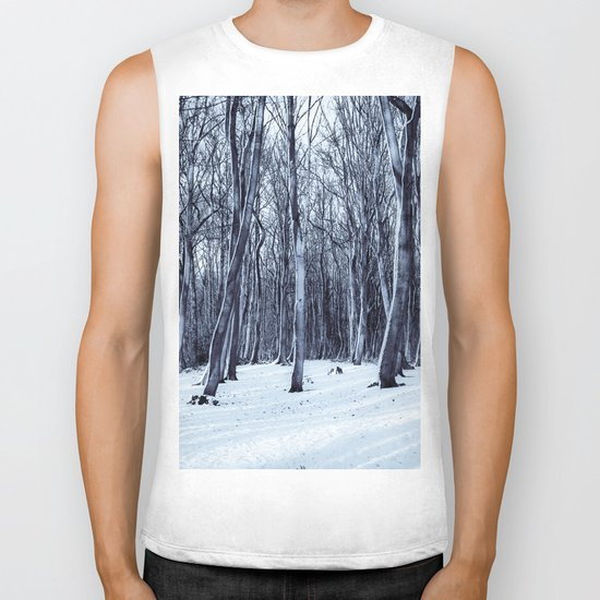 We Are The Trees Biker Tank