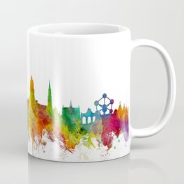 Brussels Belgium Skyline Coffee Mug