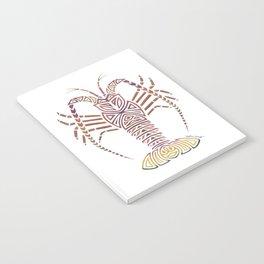Tribal Caribbean Lobster Notebook