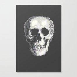 Tri Skull Canvas Print
