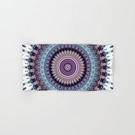 Mandala for Winter Mood Hand & Bath Towel
