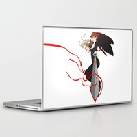 justice league Laptop & iPad Skins featuring Justice by Stevyn Llewellyn
