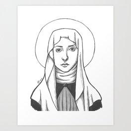 St. Catherine of Siena Art Print