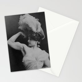 Vintage Strongwoman Charmion Flexing - 1897 Stationery Cards