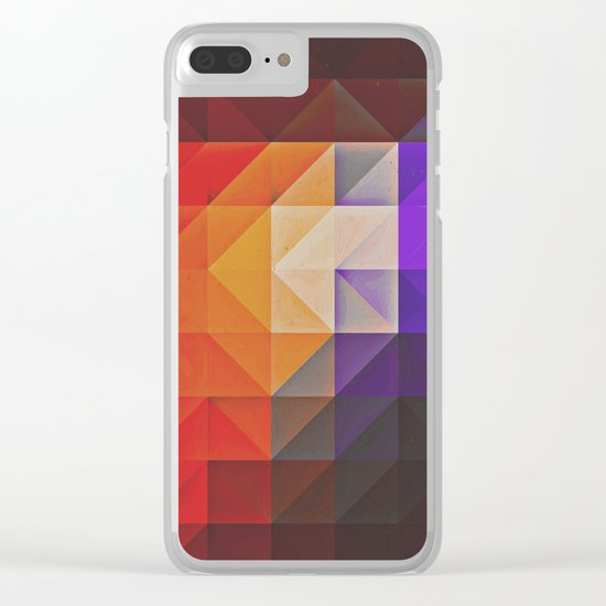 pyncyl nyck Clear iPhone Case