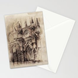 Gothic Cathedral 2 Stationery Cards