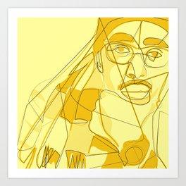 Oddisee Art Print